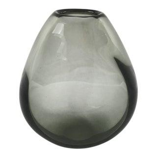Vintage Mid-Century Per Lütken for Holmegaard Drop-Shaped Vase For Sale