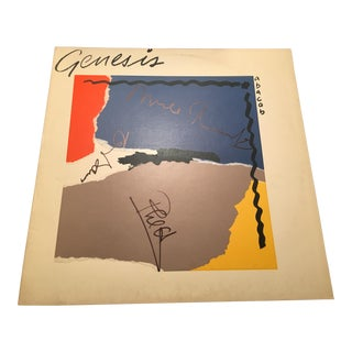 Genesis Autographed 'Abacab' Album Cover For Sale