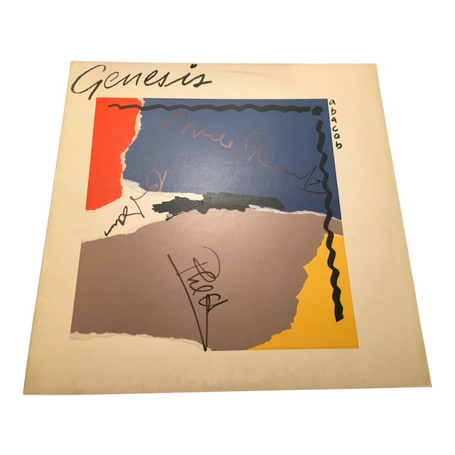 Genesis Autographed 'Abacab' Album Cover For Sale