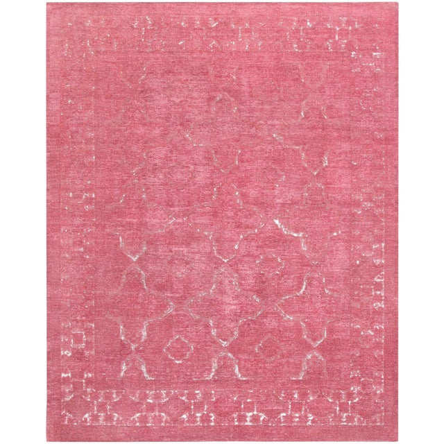 """Pasargad Overdye Wool Area Rug - 7'11"""" X 10' For Sale"""