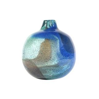 Vintage Bengt Orup for Johansfors Swedish Art Glass Vase For Sale