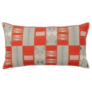 Contemporary Corridor Appliqué Pillow For Sale
