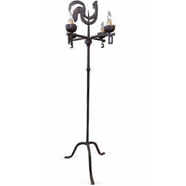 Antique French Weather Vane Floor Lamp For Sale