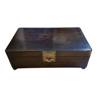 19th Century Korean Pine Dowry Chest For Sale