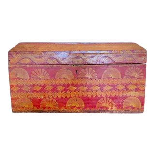 Mid 19th Century French Wedding Trunk For Sale