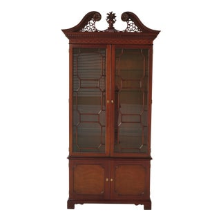 Kindel Oxford Mahogany 2-Door China Display Cabinet