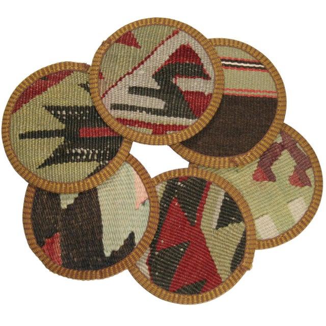 Kilim Coasters, Perdahçı - Set of 6 - Image 1 of 2