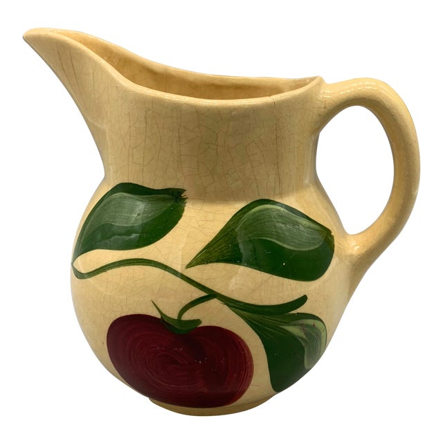 Watt Pottery's Apple Pitcher For Sale