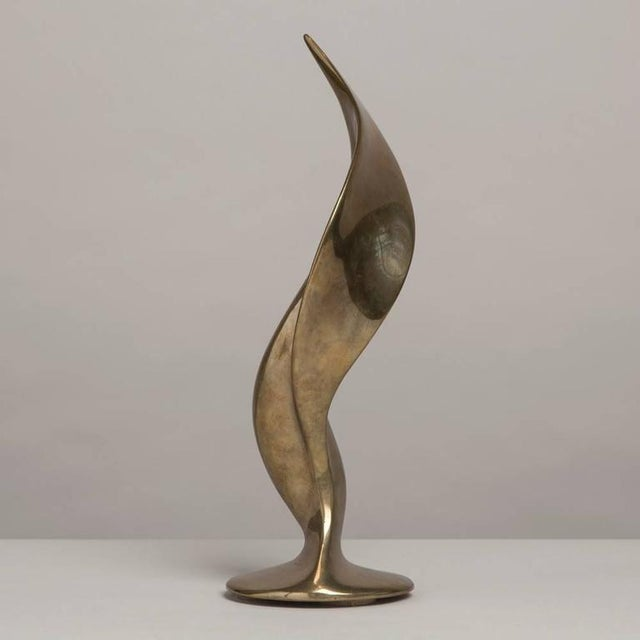 Superb Cast Bronze Abstract Table Sculpture, 1970s - Image 3 of 5