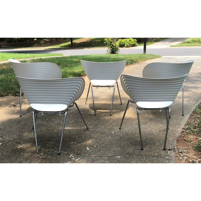 Vitra Tom Vac Ron Arad by Vitra Chairs - Set of 5 For Sale - Image 4 of 12