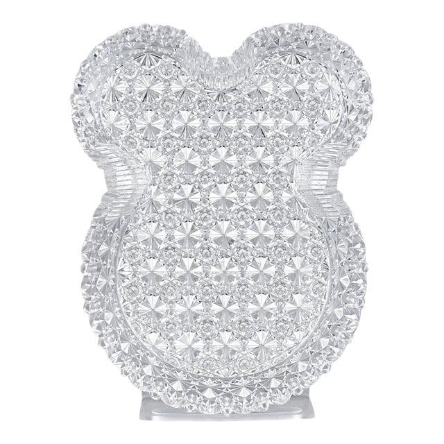 American Brilliant Cut Glass Tray, Russian Pattern For Sale