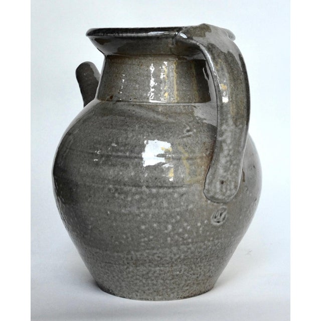 Studio Pottery Large Pitcher, Style of Winchcombe Pottery For Sale - Image 4 of 8