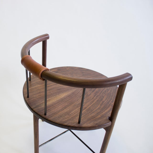 Tan Lloyd Accent and Dinning Chair For Sale - Image 8 of 12