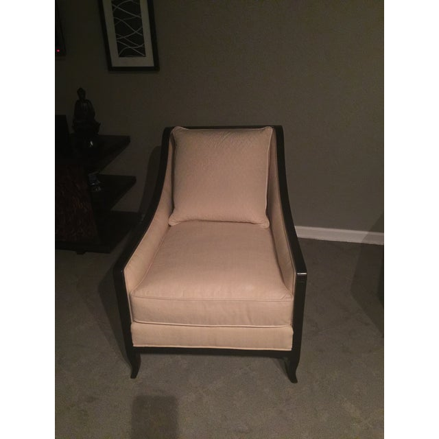 Caracole Natural, Dk Expresso Sutton Club Chair For Sale In New York - Image 6 of 7