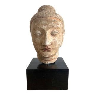 Stone Fragment of Buddha Gandhara For Sale