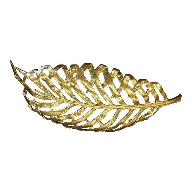 Michael Aram Palm Centerpiece Platter | Chairish