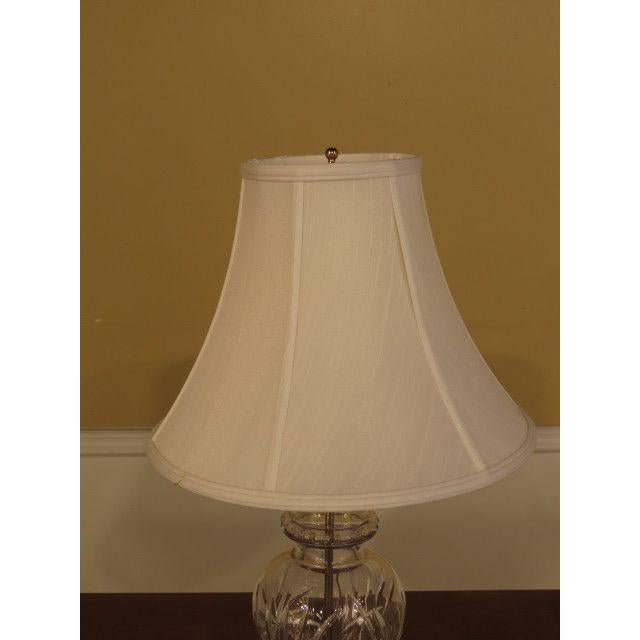 Waterford Crystal & Brass Table Lamps - a Pair For Sale In Philadelphia - Image 6 of 10