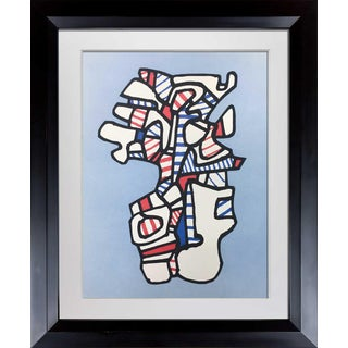 1970s Vintage Jean Dubuffet Limited Edition Lithograph Print For Sale