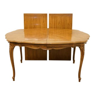 Late 20th Century Thomasville Furniture Camille Collection Dining Table For Sale