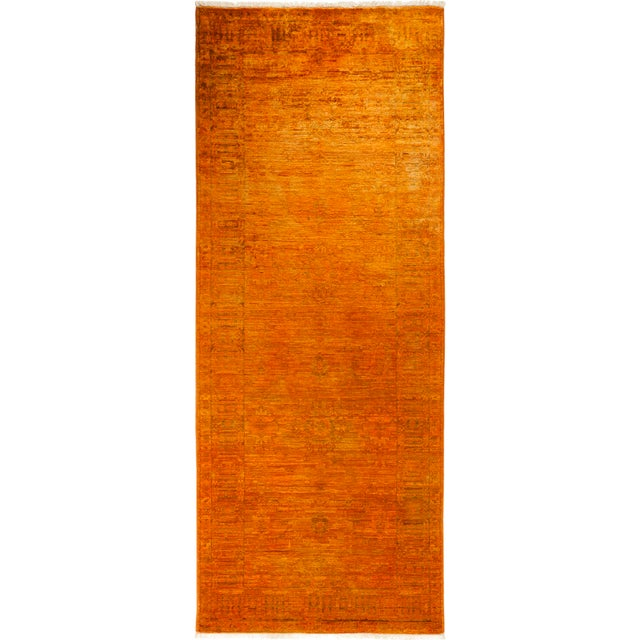 Orange Runner Rug For Sale - Image 4 of 4