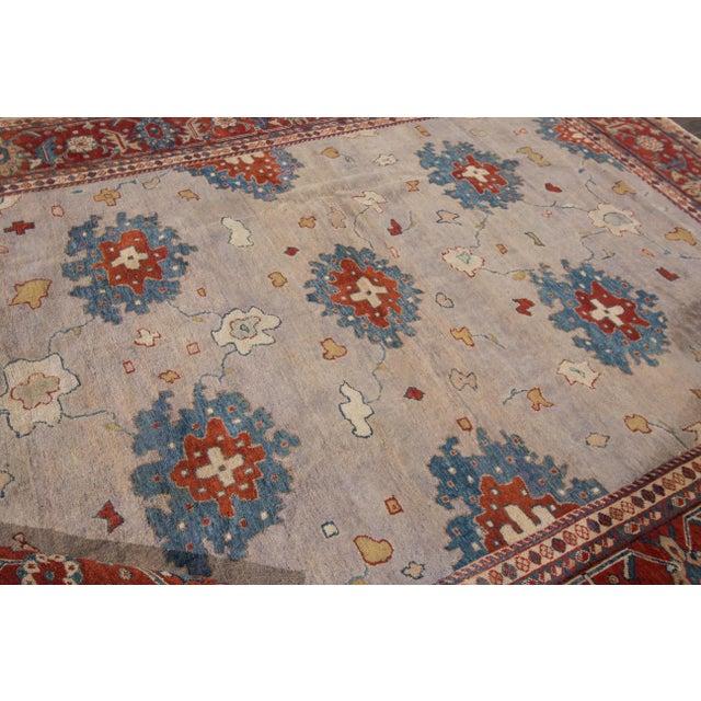 Apadana - Antique Persian Mahal Rug, 9' x 11' For Sale In New York - Image 6 of 7