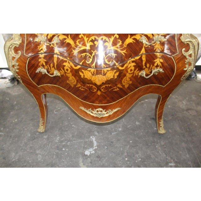 Mid 19th Century Mid 19th Century Antique French Bombay Commode For Sale - Image 5 of 13
