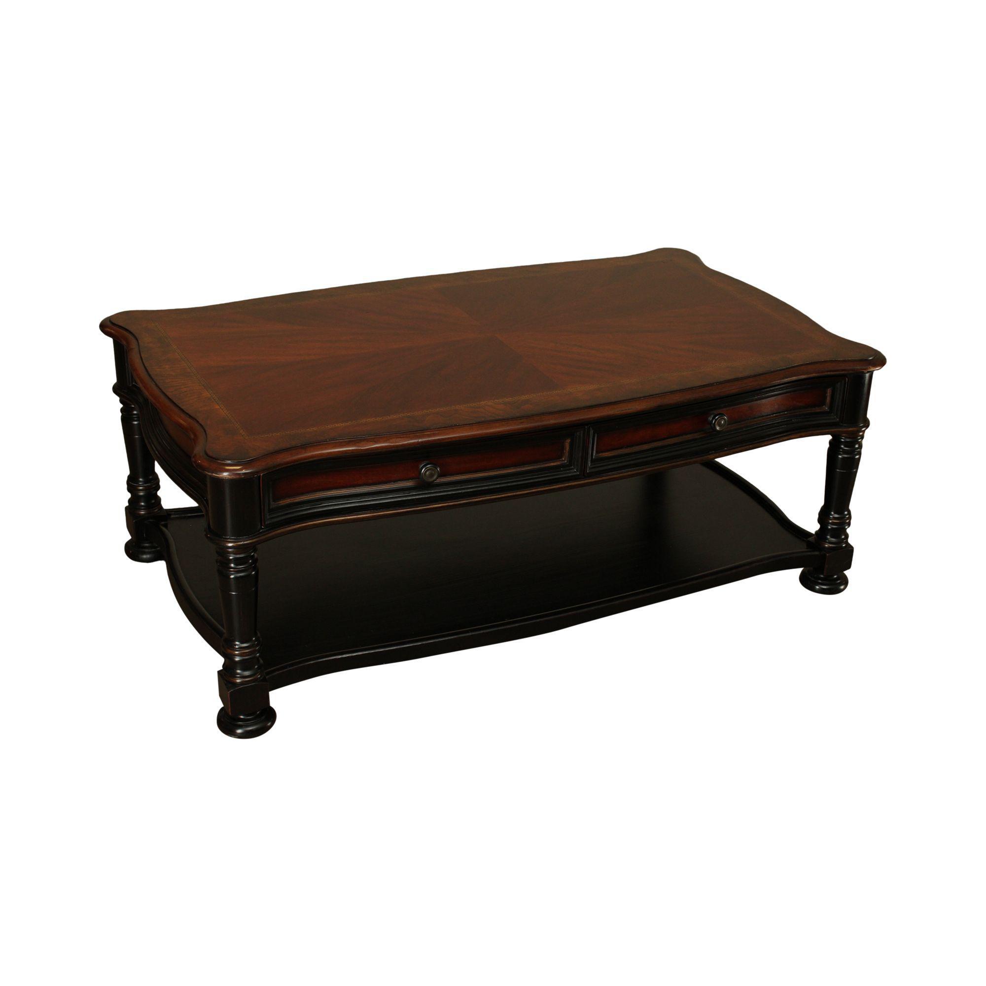 - Hooker Preston Ridge Coffee Table With Storage Chairish