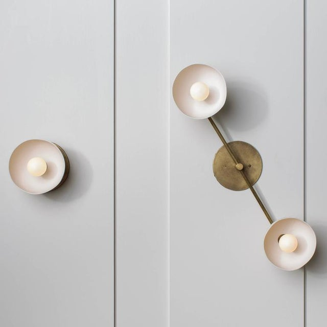 Trapeze 2 Sconce by APPARATUS - Image 2 of 6