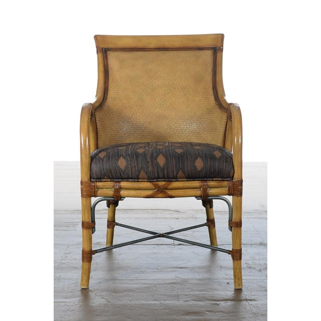 Hollywood Regency McGuire Style Chairs - Set of 6 - Image 4 of 10