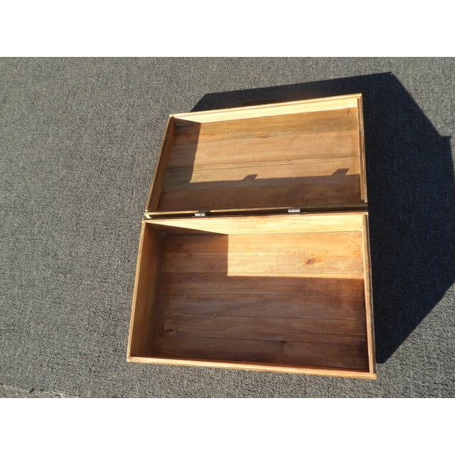 Vintage Industrial Tools Supplies Storage Box for Beliveau General Supply For Sale - Image 12 of 13