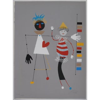 Wolfgang Roth Listed Circus Series - Heart Love For Sale