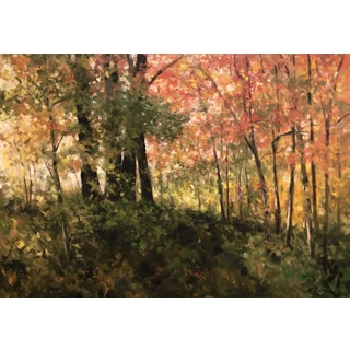 "Thomas McNickle ""A Bright Autumn Morning"" Contemporary Traditional Landscape Oil Painting For Sale"