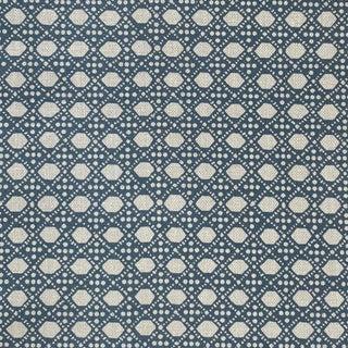 LuRu Home Wickerwork Fabric, Sample in Pond Sample For Sale
