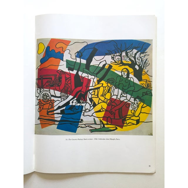 """Fernand Leger Rare Vtg 1962 Lmtd Edtn """" Five Themes & Variations """" Guggenheim Museum Exhibition Catalogue Collector's Art Book For Sale - Image 11 of 13"""