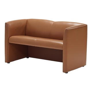 Leather Sofa or Settee by Metropolitan Furniture Company For Sale