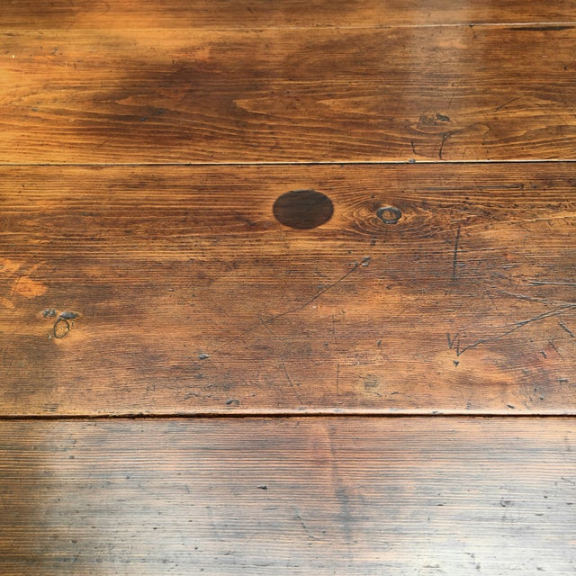 Antique Hepplewhite Farmhouse Drop Leaf Table - Image 10 of 11