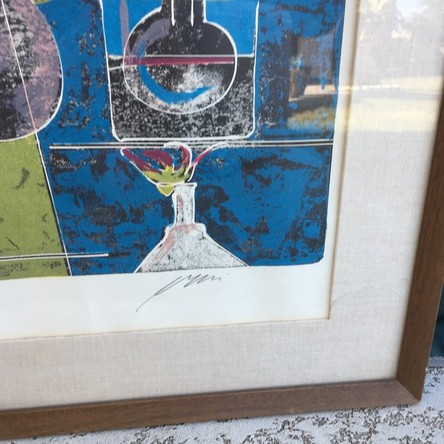Mid-Century Signed Hans Erni Lithograph - Image 8 of 11
