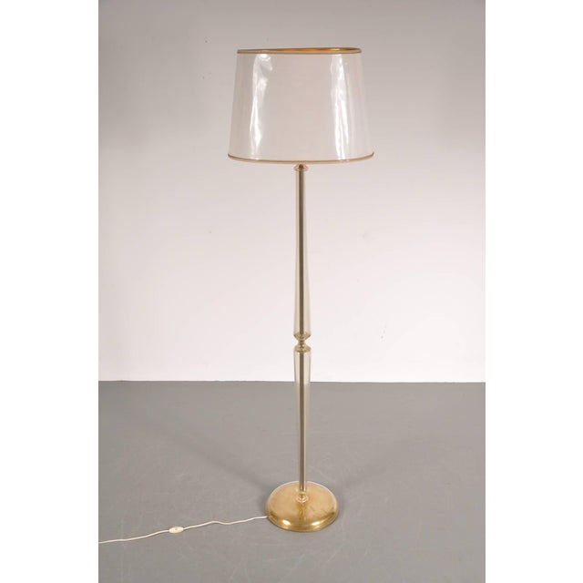 Incredible Murano Glass Floor Lamp in the Manner of Barovier e Toso ...