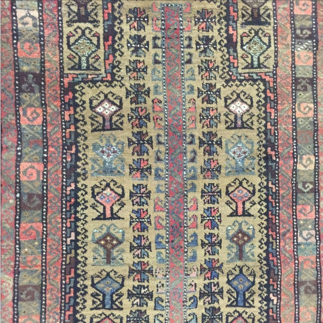 Traditional Baluchi Persian Rug - 2'6 x 3'6'' - Image 6 of 7