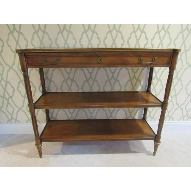 Console Table by Baker Furniture For Sale - Image 9 of 11