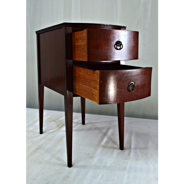 Antique Flint & Horner Nightstand - Image 5 of 8