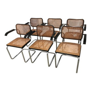Original Knoll Cesca Chairs - Set of 6
