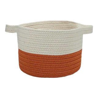 Beach Bum Basket Orange Storage Basket