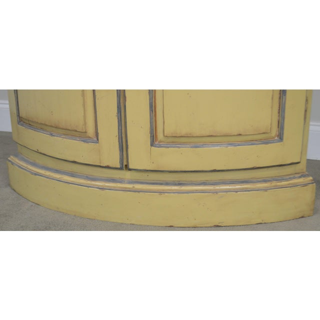 French Country Style Corner Cabinet For Sale - Image 9 of 13
