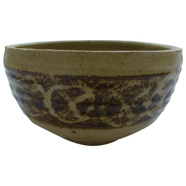 Mid-Century Studio Pottery Decorated Bowl - Image 1 of 11