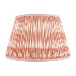 """Boho Chic Ikat Printed Lamp Shade 18"""", Coral For Sale - Image 3 of 3"""