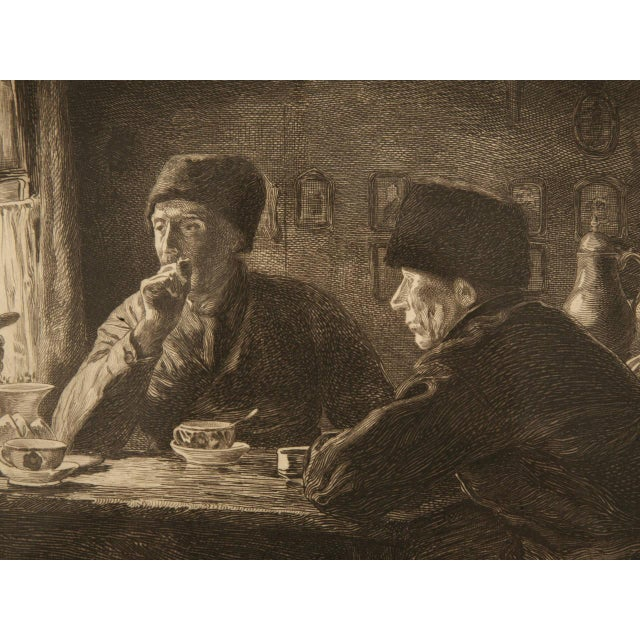 Authentic Jules Benoit-Lévy Engraving For Sale - Image 11 of 11