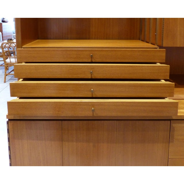 Mid 20th Century Mid-Century Modern Paul McCobb for Calvin Furniture Breakfront For Sale - Image 5 of 13