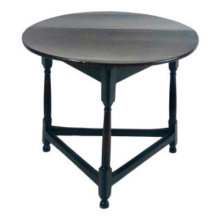 Drop Leaf Cricket Table, England Circa 1790 For Sale