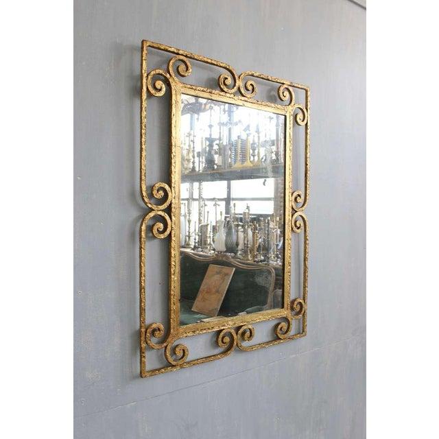Spanish Gilt Metal Mirror - Image 2 of 10